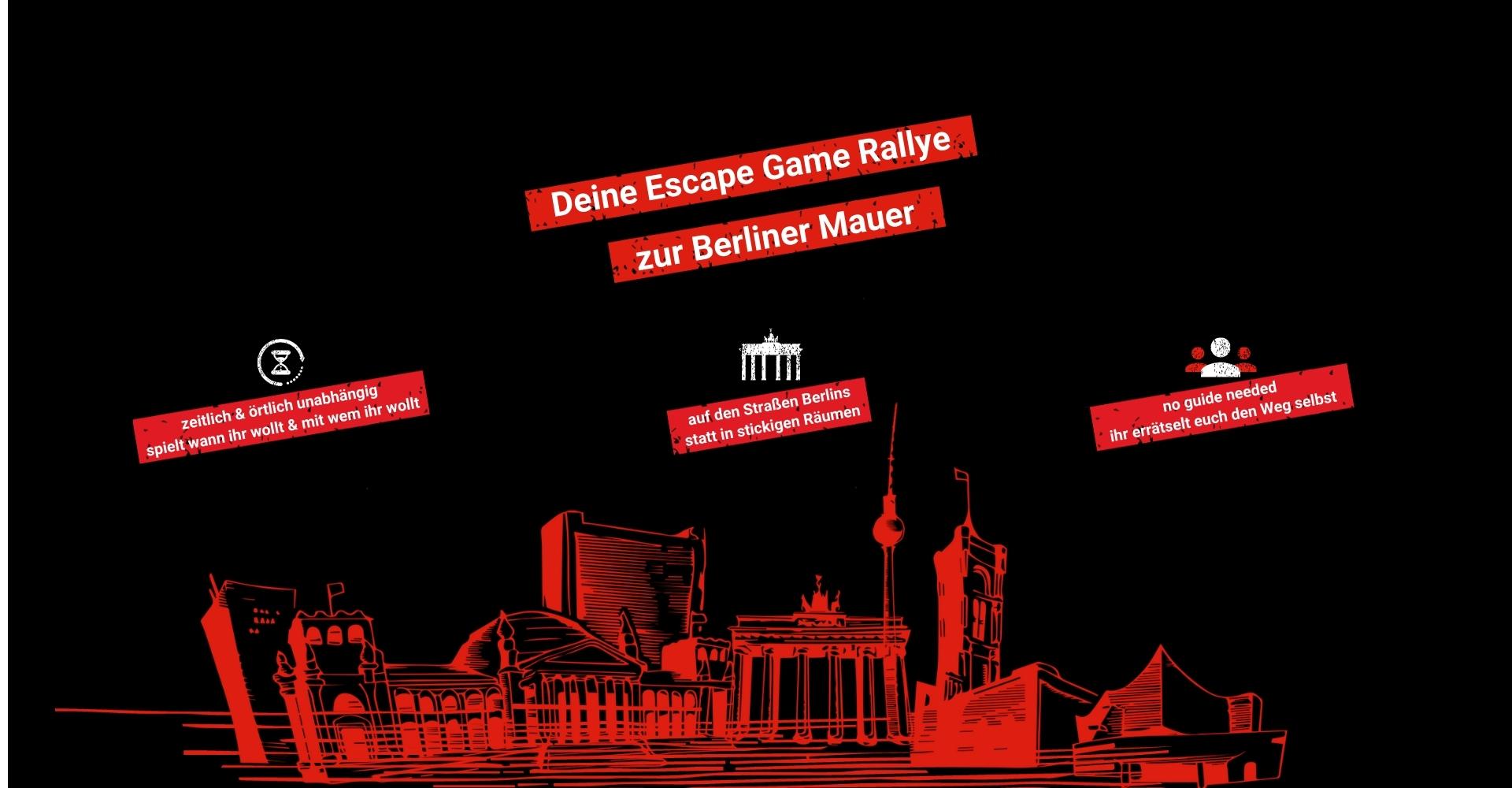 Das Sightseeing Escape Game zur Berliner Mauer